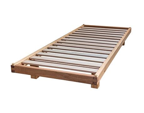 Base Letto Legno : Letti in legno vivere zen