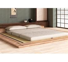 Vivere zen futon letti in legno giapponesi tatami for Arredamento giapponese
