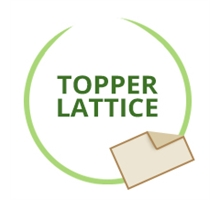 Topper in Lattice