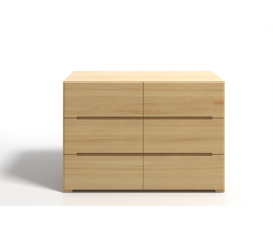 Cassettiera in legno Sparta in Pino - Vivere Zen