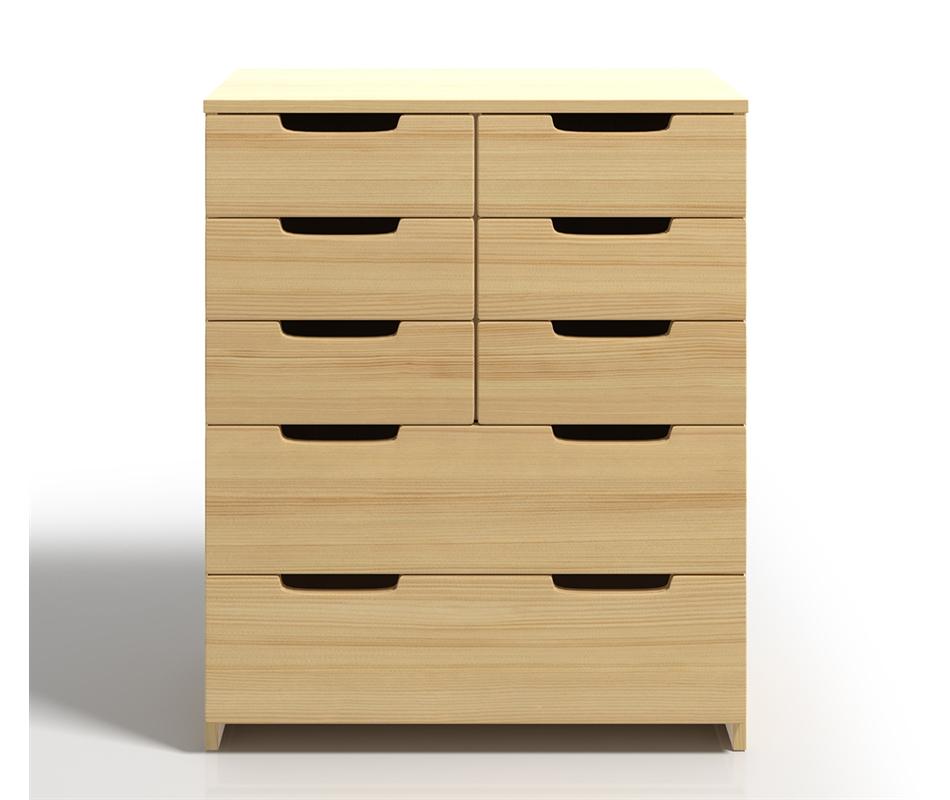 Cassettiera in legno Spectrum in Pino - Vivere Zen