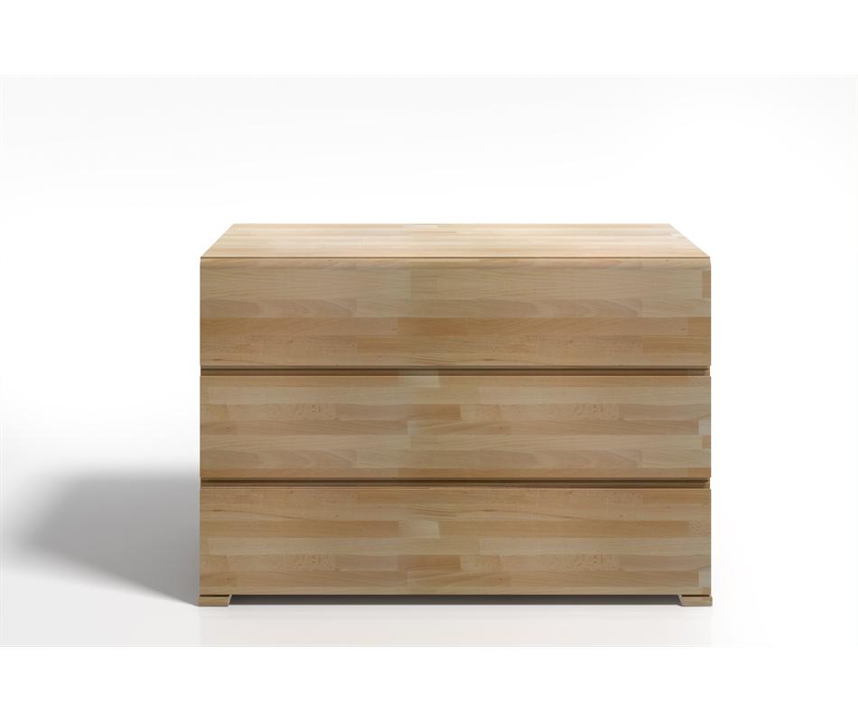 Cassettiera in legno vestre in faggio vivere zen for Cassettiera legno