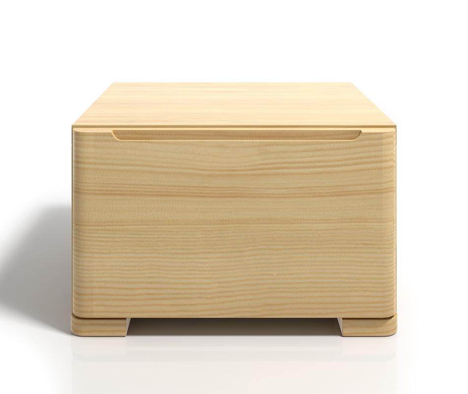 Comodino in legno di Pino - Sparta - Vivere Zen