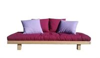 Divani letto in legno vivere zen - Divano letto doghe in legno ...
