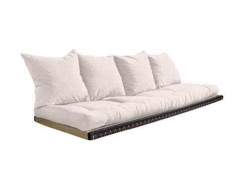 Divano letto futon kanto vivere zen for Divano letto futon
