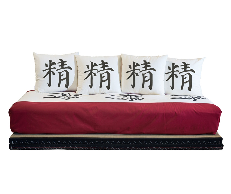 Divano letto futon kanto double lux vivere zen for Divano letto futon