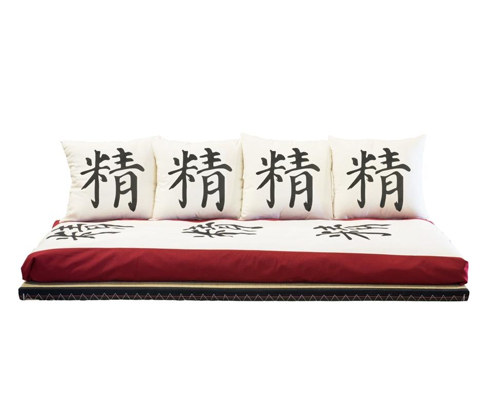 Divano letto futon kanto lux vivere zen for Divano letto futon