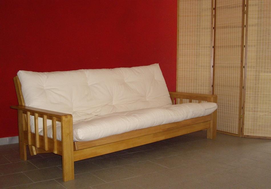 Divano letto futon kyoto non bio vivere zen for Divano letto futon