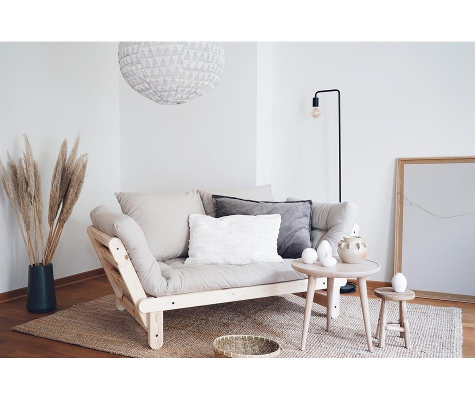 Divano letto futon beat zen pino scandinavo vivere zen - Divano letto pino ...
