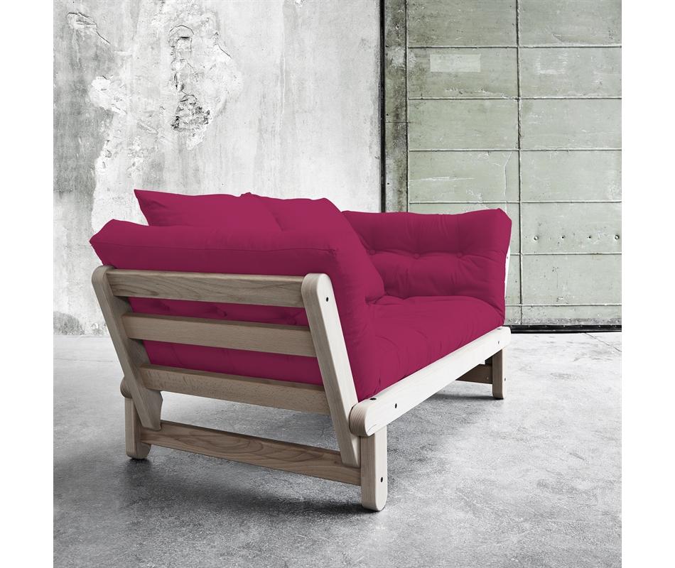 Divano letto futon beat beech zen faggio vivere zen for Divano letto futon