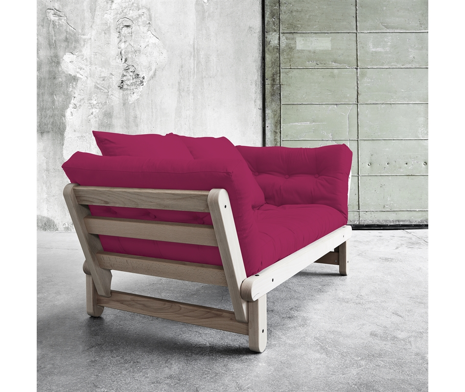Divano letto futon beat beech zen faggio vivere zen - Letto a divano ...
