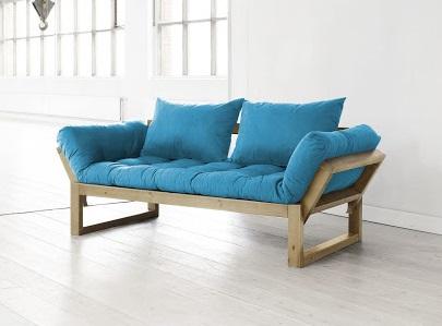 Divano letto futon edge zen vivere zen - Letto a divano ...
