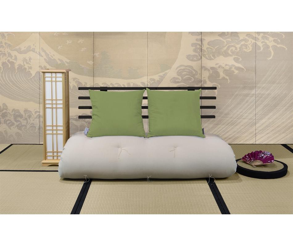Divano letto futon shin sano zen vivere zen for Divano letto futon