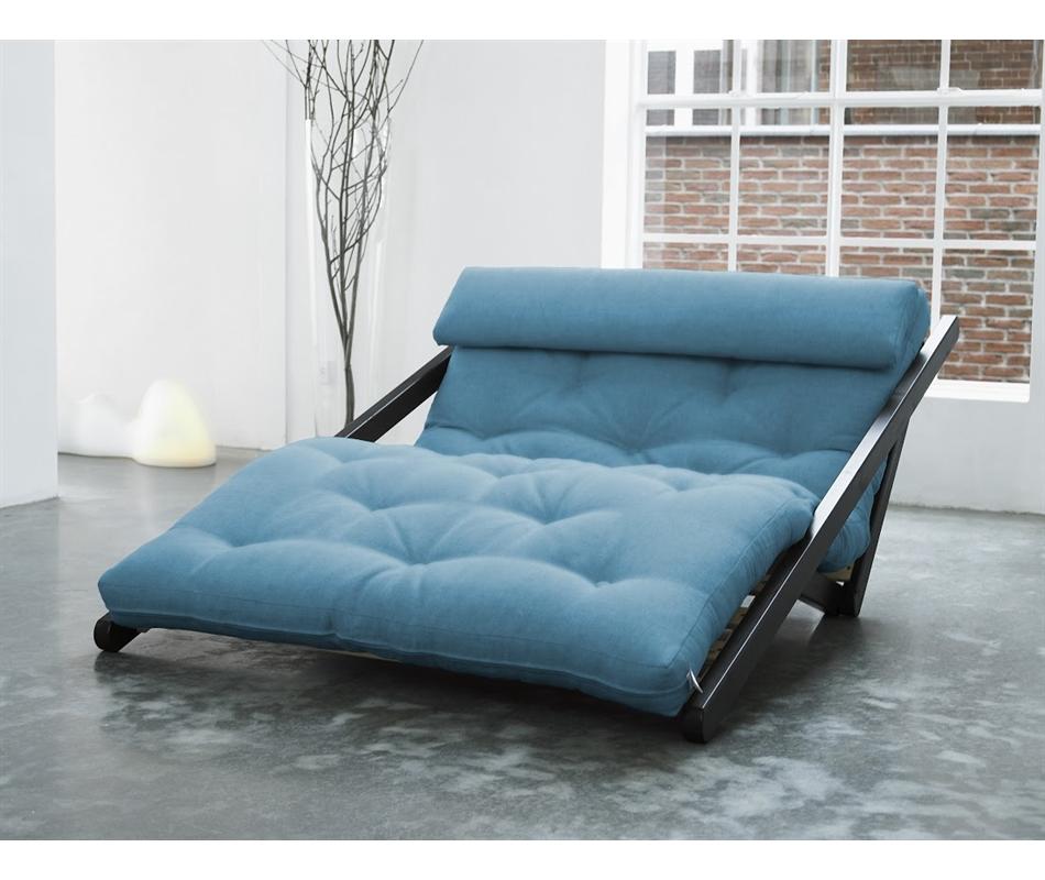 Divano letto futon/chaise longue Figo - Zen - Vivere Zen