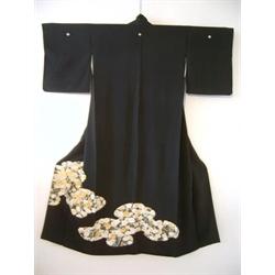 Kimono Kurutomesode per donna Hanaki (Vintage Originale)