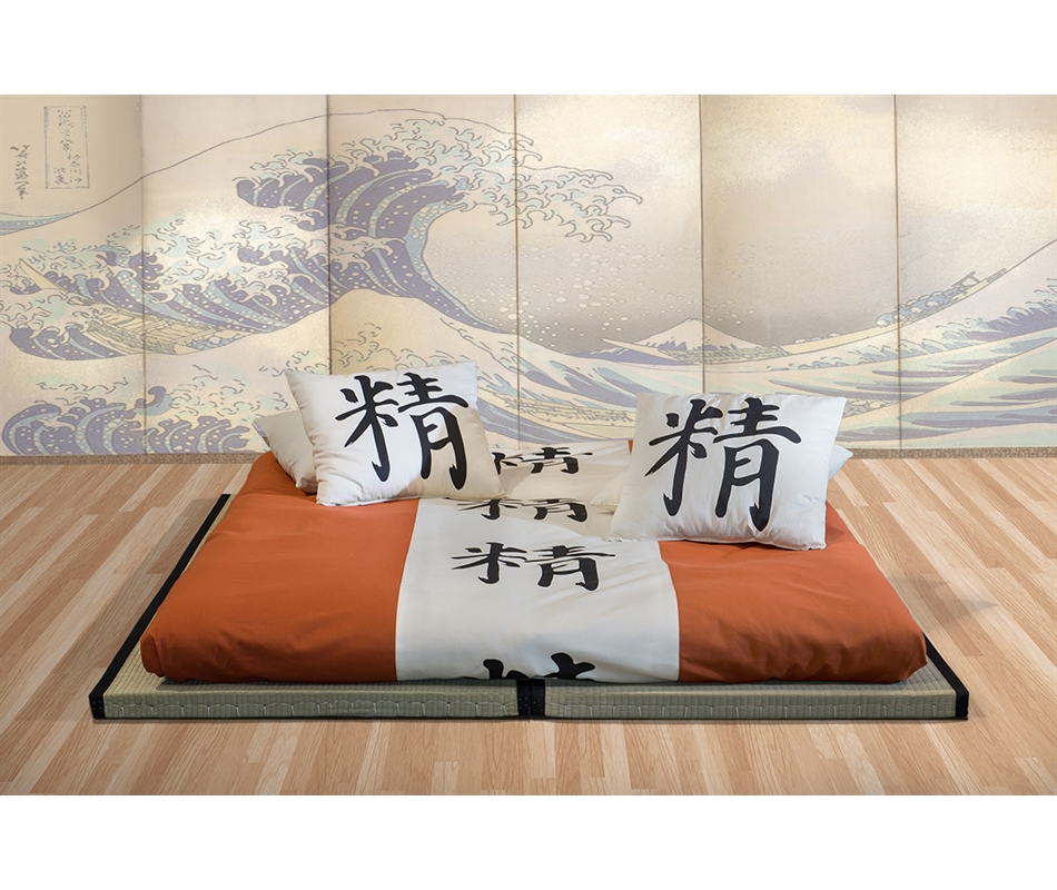 Futon Tatami kit letto 2 tatami futon da 11 a 15 cm vivere