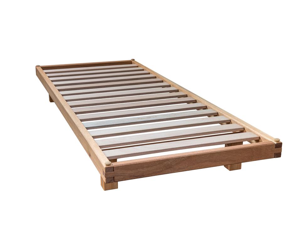 Letto a doghe bio wood vivere zen - Doghe del letto ...
