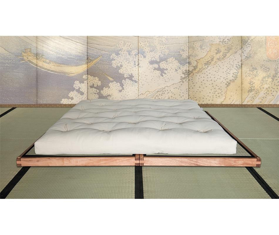 Letto bio wood pedana con tatami vivere zen - Altezza letto da terra ...