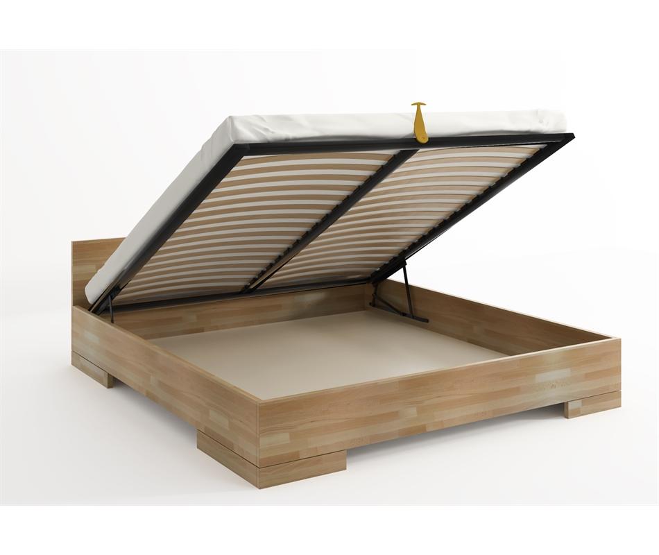 Letto contenitore Spectrum in legno di Faggio - Vivere Zen