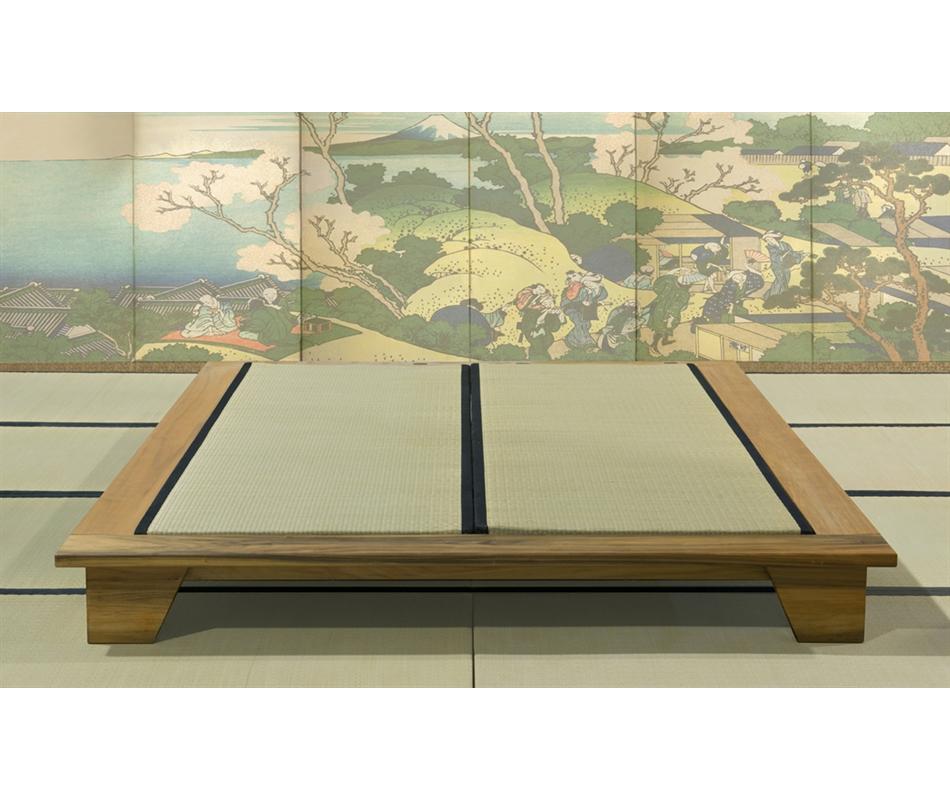 Letto giapponese felce vivere zen for Legno giapponese