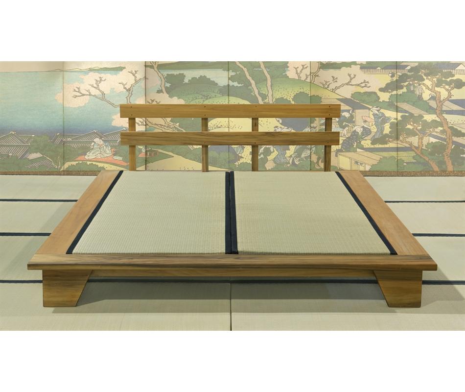 Letto giapponese felce con testata vivere zen - Letto giapponese ...