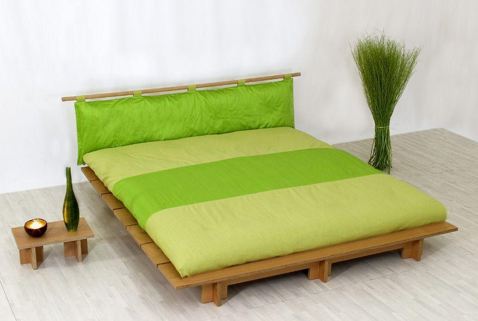 Letto giapponese shibai vivere zen for Camera da letto zen