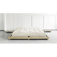 Letto in pino scandinavo massello - Dock Naturale