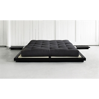 Letto in pino scandinavo massello - Dock Nero