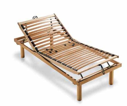Letto reclinabile a doghe primnest comfort sapsabedding for Letto con testata reclinabile