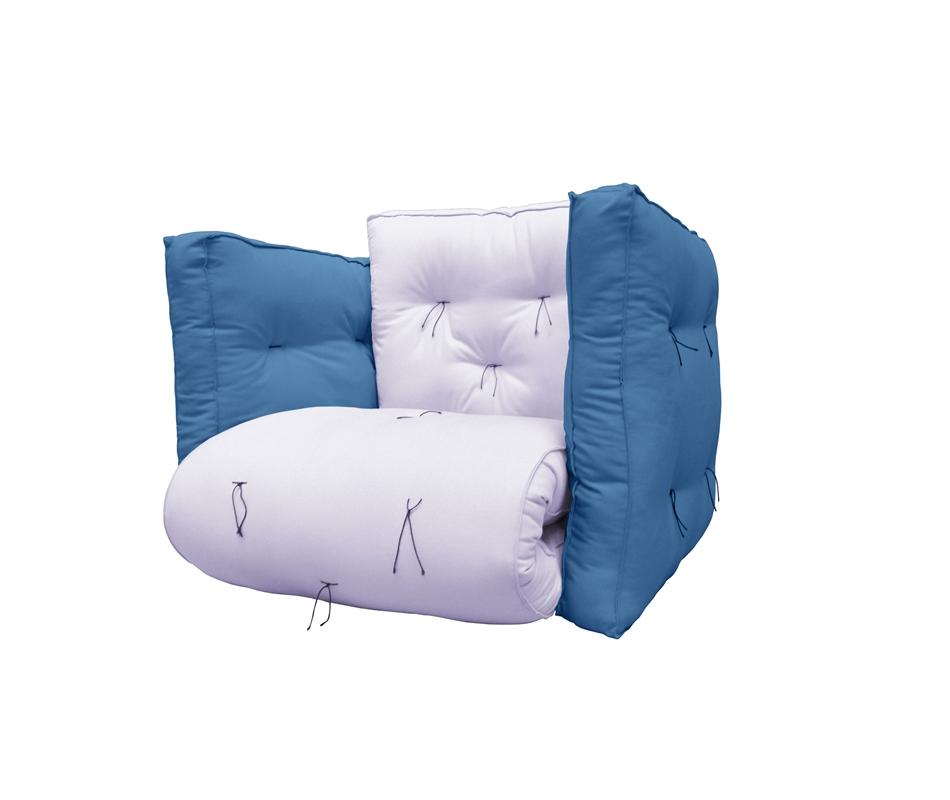 Poltrona futon sigmund vivere zen for Poltrona letto futon