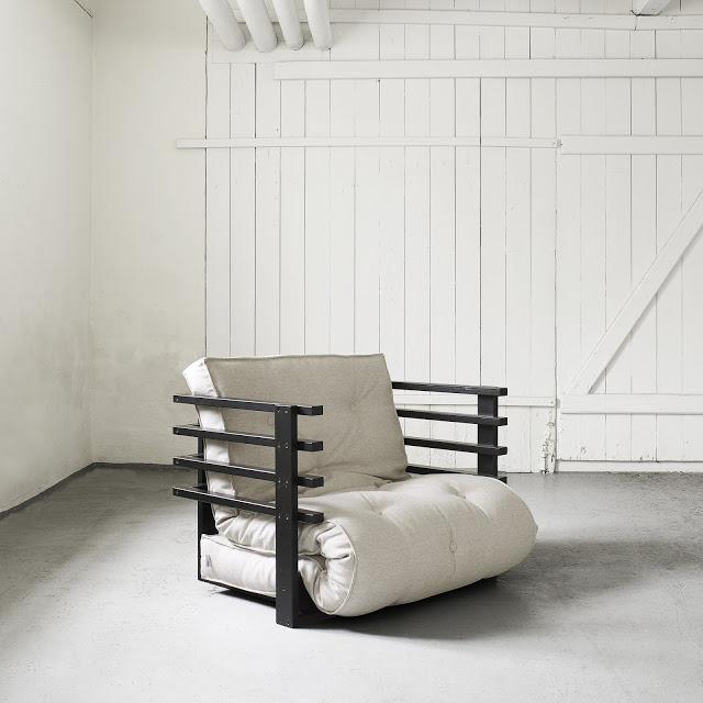 Poltrona letto futon yori vivere zen for Letto futon