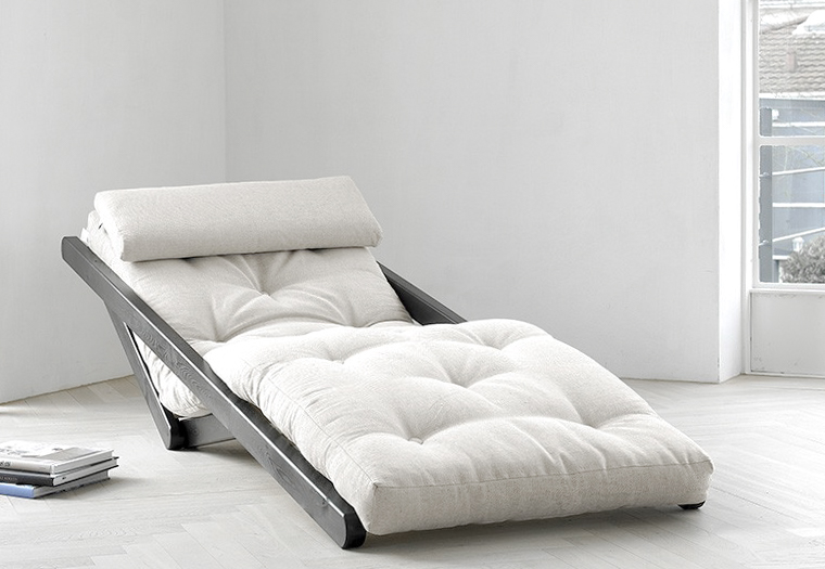 Poltrona letto futon/chaise longue Figo - Zen - Vivere Zen