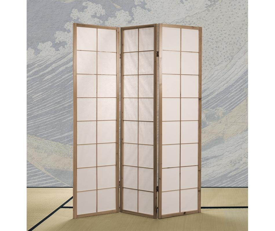 Separ shoji in legno naturale vivere zen - Separe prezzi ...