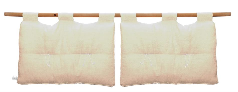 Testiera letto in cotone - Loto matrimoniale - Vivere Zen