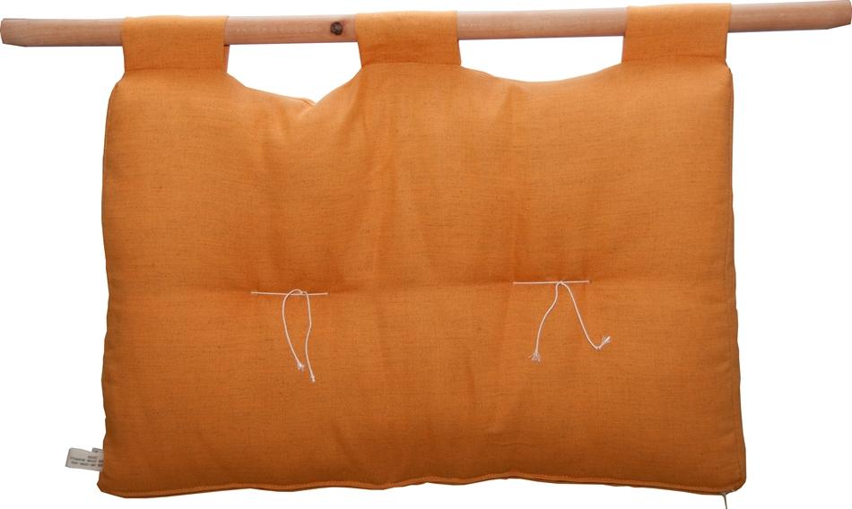 Testiera letto in cotone loto singola vivere zen - Testiera letto tessuto ...