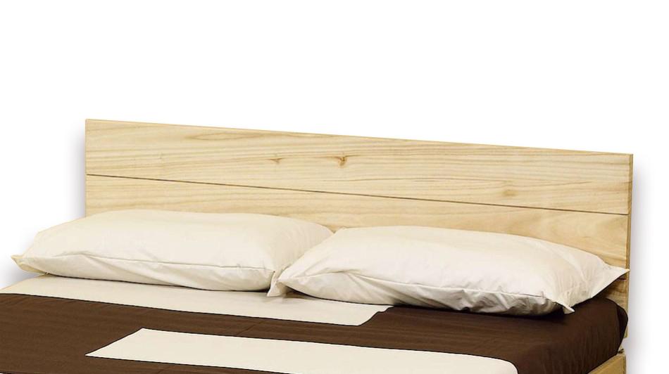 Testiera letto in legno di paulonia solypso vivere zen - Testate letto matrimoniale ...
