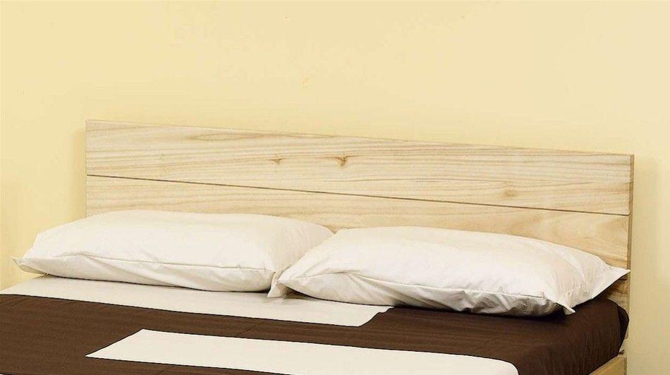 Testiera letto solypso in legno di faggio vivere zen - Testate per letto ...