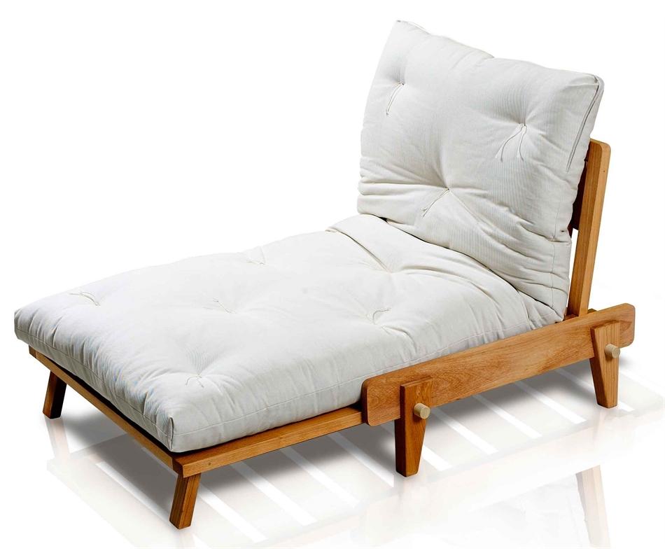 Poltrona letto yasumi vivere zen for Poltrona letto futon