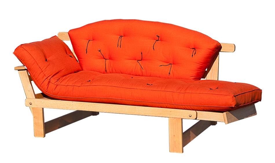 Divano Letto Singolo : Divano letto futon sesamo naturale in promozione vivere zen