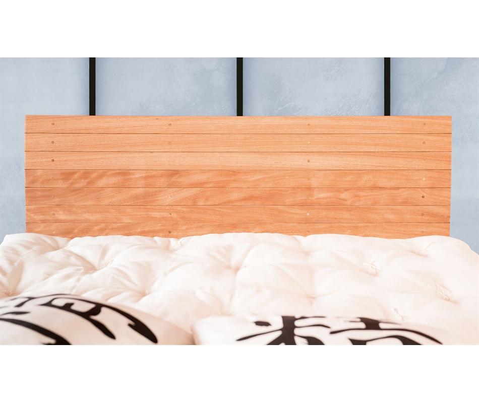 Testiera letto in legno artigianale Nami - Vivere Zen