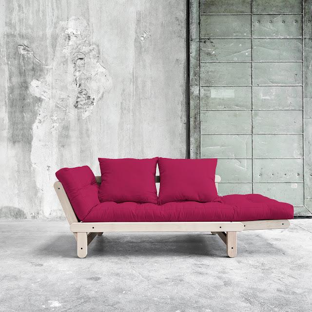 Divano letto futon beat beech zen faggio vivere zen - Divano letto zen ...