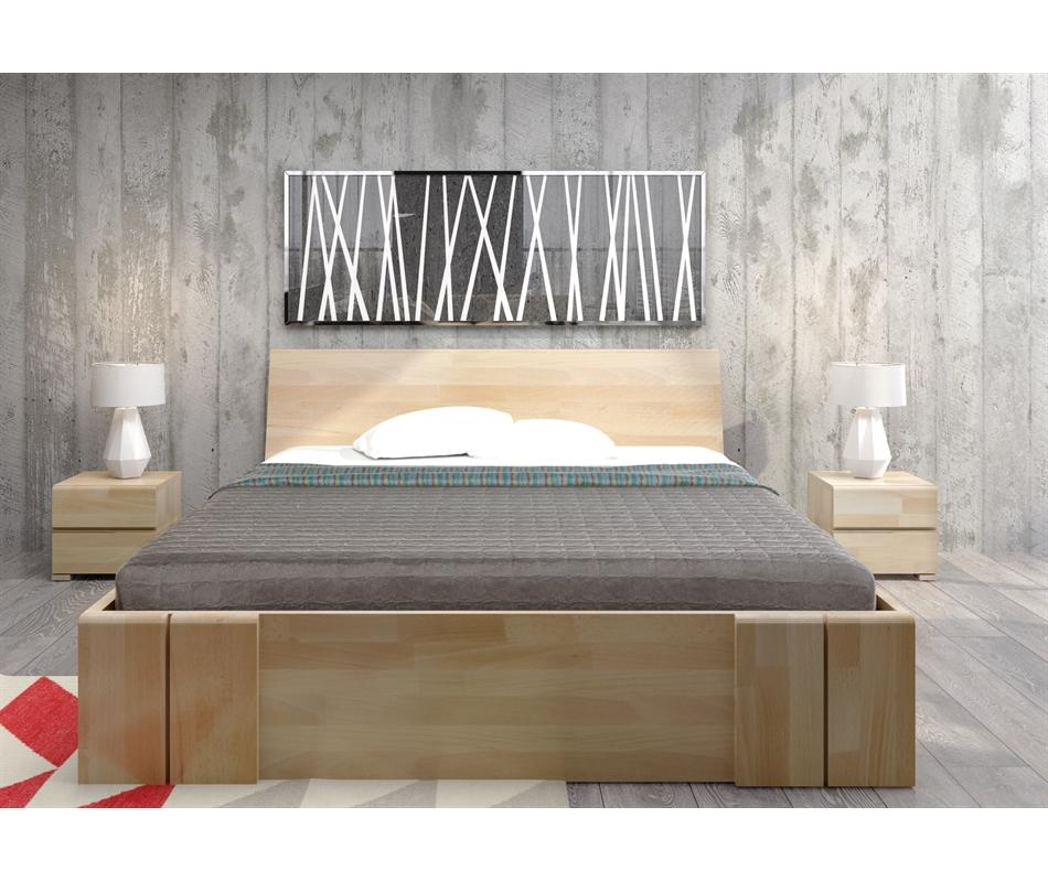 Letto in legno di Faggio con cassetti - Vestre