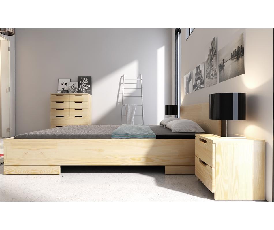 Letto contenitore spectrum in legno di pino vivere zen - Subito letto contenitore ...