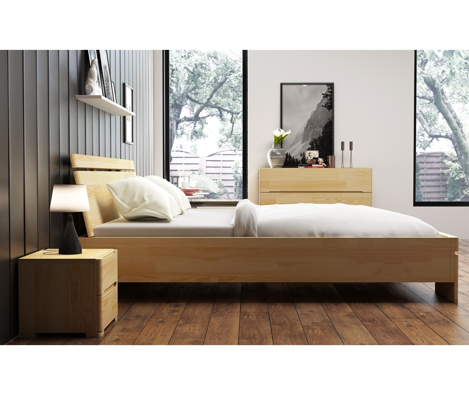Letto contenitore sparta in legno di pino vivere zen - Subito letto contenitore ...