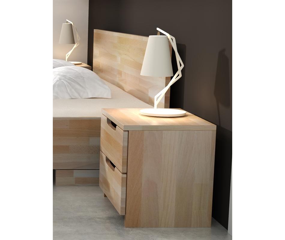 Comodino in legno Spectrum Maxi in Faggio - Vivere Zen