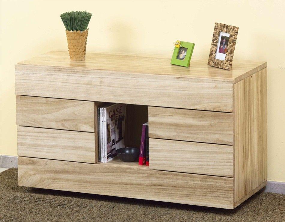 Letto solypso senza testata paulonia vivere zen for Paulownia legno mobili