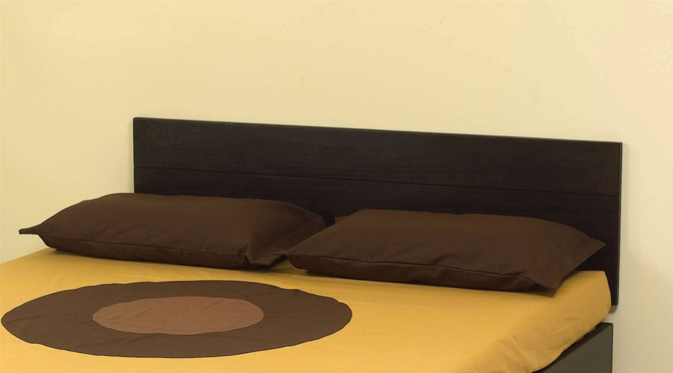 Testiera letto in legno di paulonia solypso vivere zen - Testiera letto a muro ...