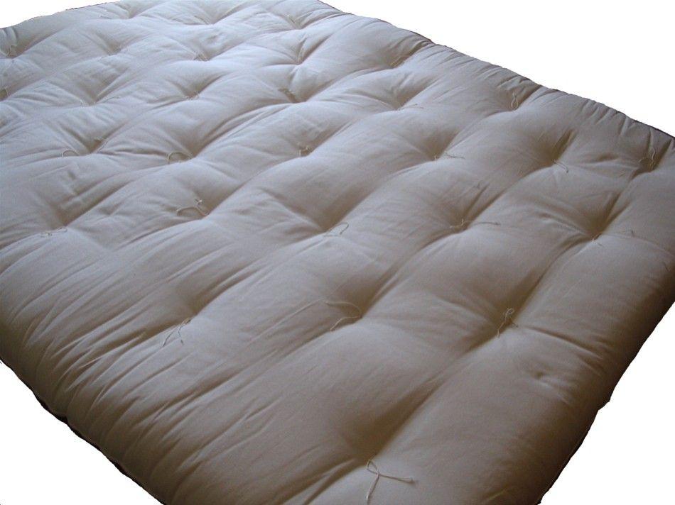 futon kiryu 11cm 4 strati cotone riciclato vivere zen. Black Bedroom Furniture Sets. Home Design Ideas