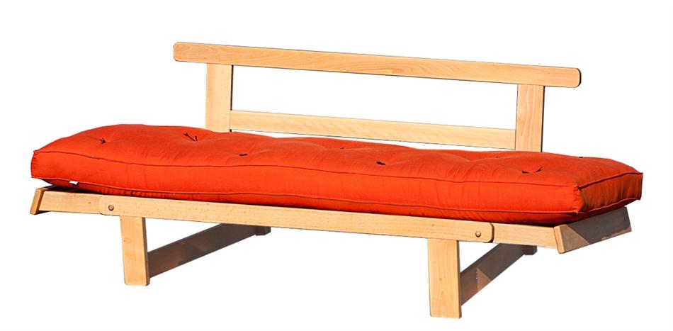 Divano letto futon sesamo vivere zen - Rivestimento divano costo ...