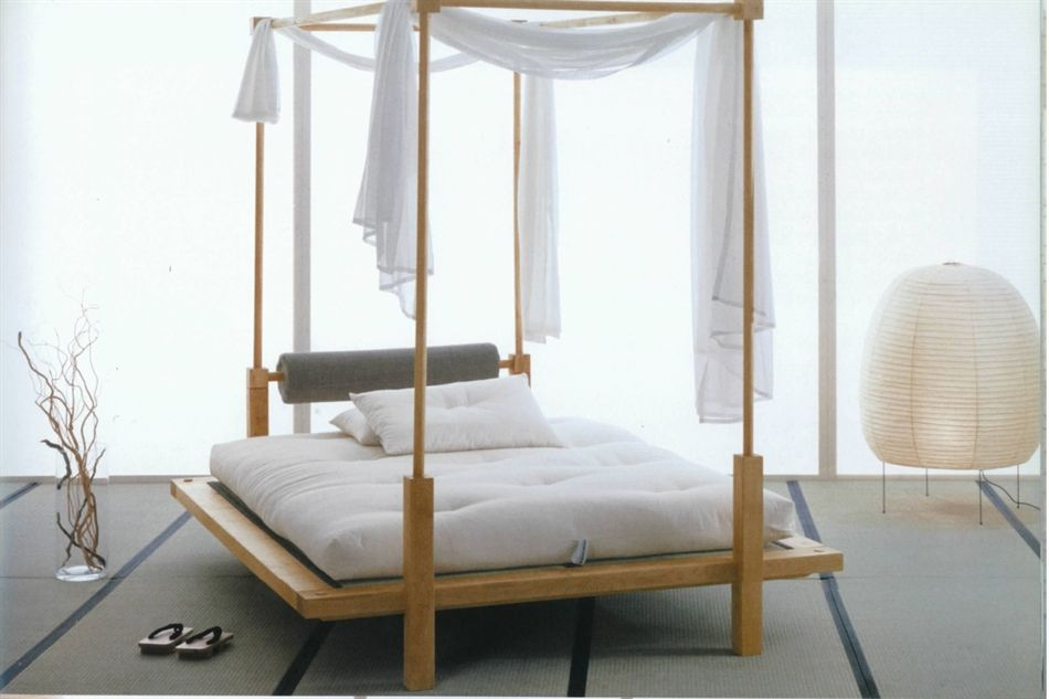 Letto in legno Khann - Vivere Zen